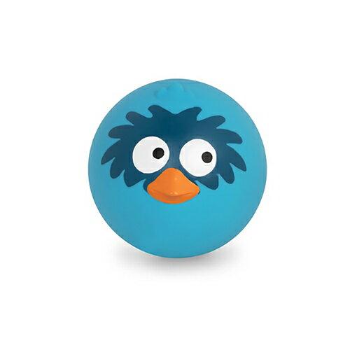 《美國B.toys感統玩具》帕帕鳥皮球(海洋藍)