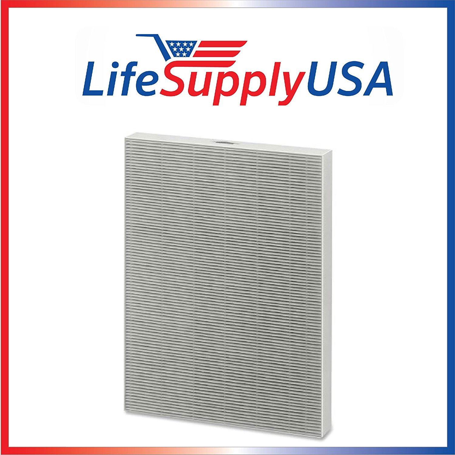 LifeSupplyUSA 1 HEPA Air Purifier Filter 4 Carbon Filters to fit Fellowes AP 300PH Air Purifier Compare HF 300