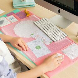 PS Mall 創意電腦辦公桌墊書桌墊【J2436】