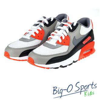 NIKE 耐吉 AIR MAX 90 MESH BG 運動休閒鞋 女 大童 833418102 Big-O Sports
