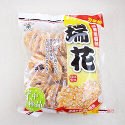 【0216零食會社】旺旺_瑞花分享包(米果)250g