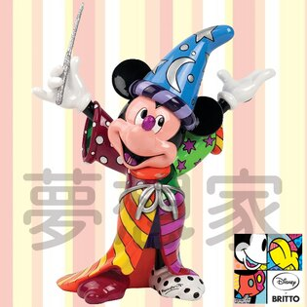 美國ENESCO精品DisneybyBritto米奇魔法師《百變迪士尼》★夢想家精品家飾★