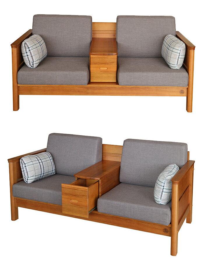 【尚品傢俱】274-03 愛德華柚木組椅/Sofa Bed/貴妃沙發床/沙發躺椅