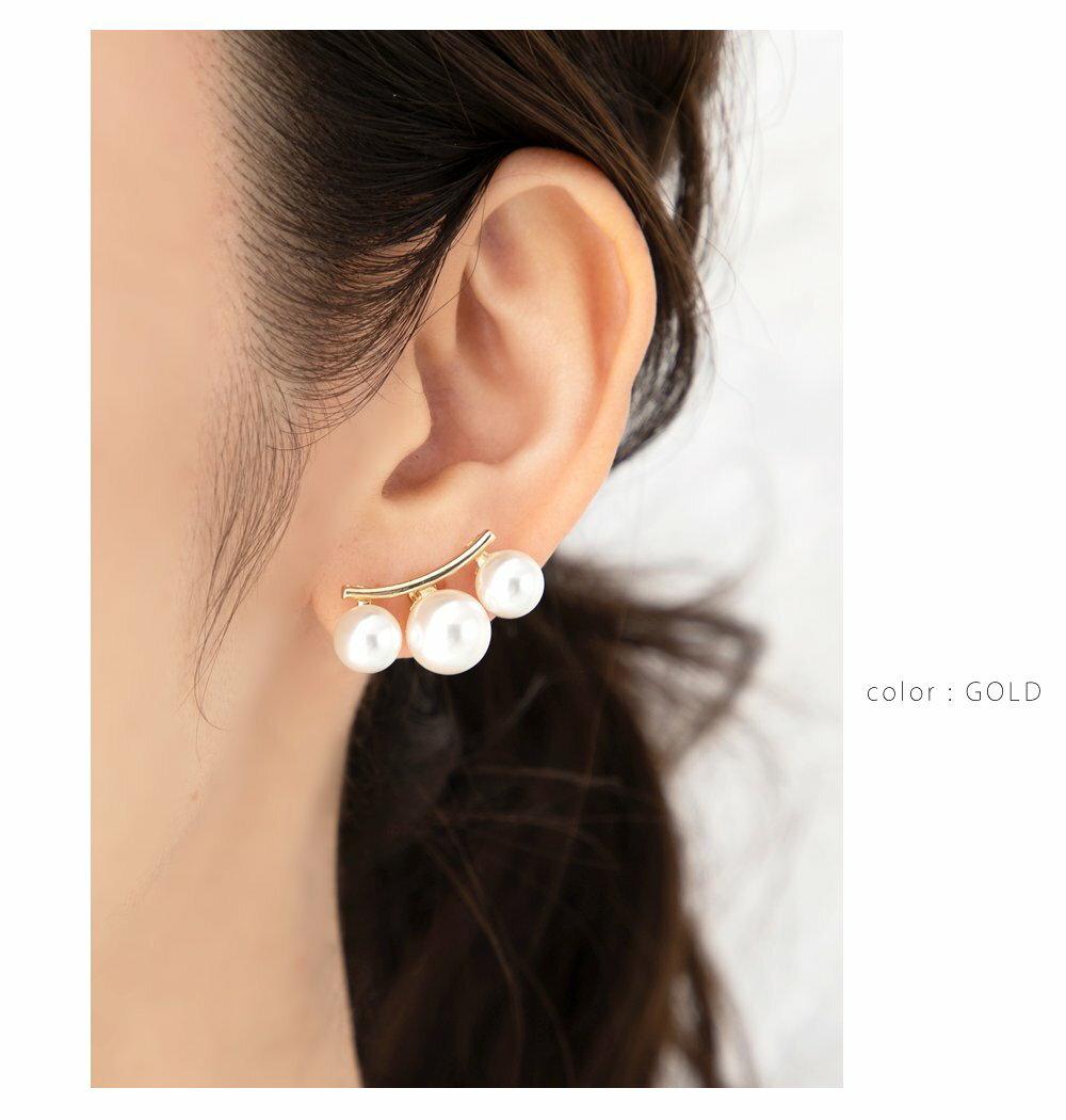 日本Cream Dot  /  優雅珍珠造型耳環  /  a04074  /  日本必買 日本樂天代購  /  件件含運 5