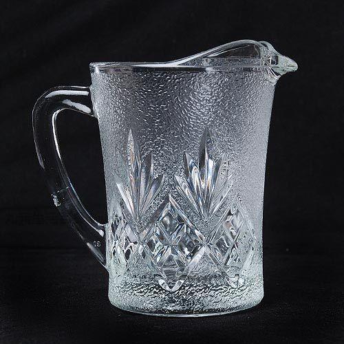 【九元生活百貨】390花紋公杯公杯玻璃杯