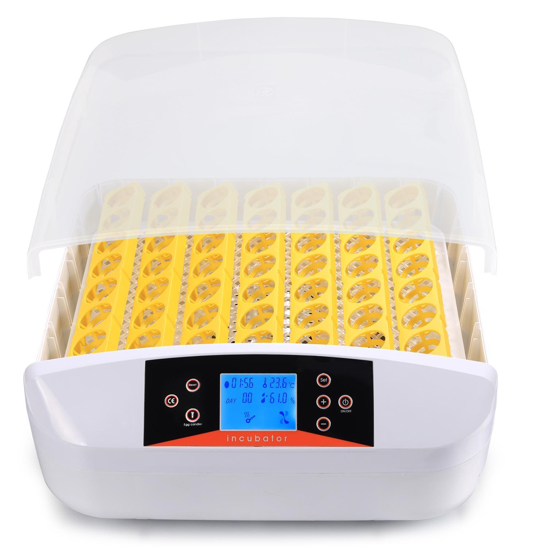 Intelligent Automatic Digital Hatching 56 Eggs Incubator Chicken Duck Egg Hatcher 1
