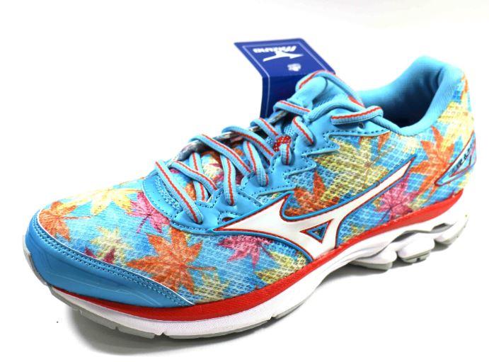 [陽光樂活] MIZUNO 富士馬拉松紀念鞋款 女慢跑鞋 WAVE RIDER 20 (Fuji) J1GD170802