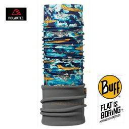 ├登山樂┤西班牙 BUFF 飛機戰隊 兒童POLAR保暖頭巾 # BF113425-707-10