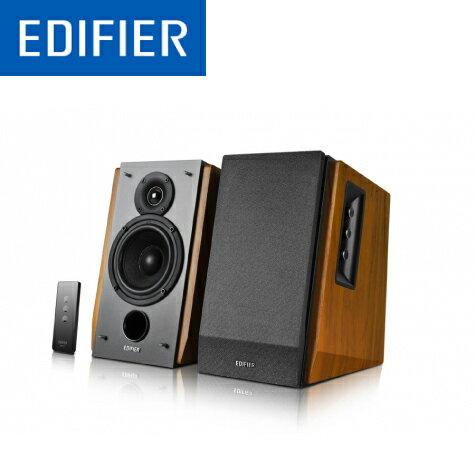 漫步者EDIFIER R1600TIII 2聲道 兩件式喇叭 /支援RCA.AUX輸入/木質箱體/附遙控器 數量1