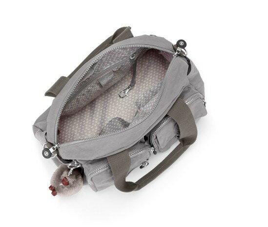 OUTLET代購【KIPLING】手提側背包 旅行袋 斜揹包 灰色 1