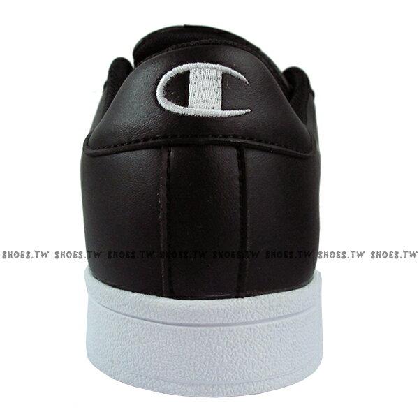 Shoestw【921210111】【921220111】Champion 休閒鞋 貝殼鞋 板鞋 皮革 黑白 男女尺寸都有 情侶款式 2