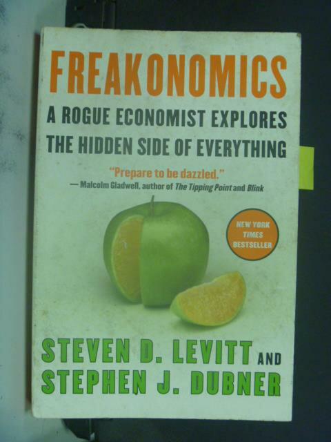 ~書寶 書T5/財經企管_KHN~Freakonomics_Levitt Steven D