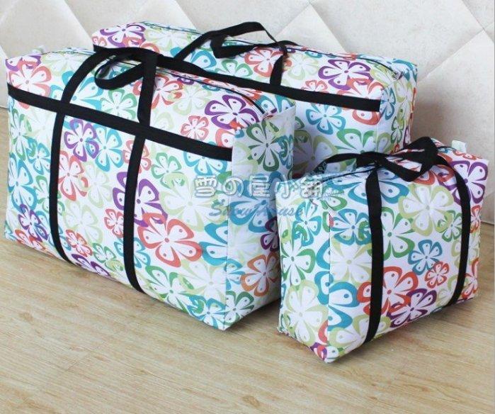 ╭☆雪之屋小舖☆╯ 加固版超大棉被收納袋90*50*27CM購物袋/露營用品睡袋睡墊收納袋/棉被袋