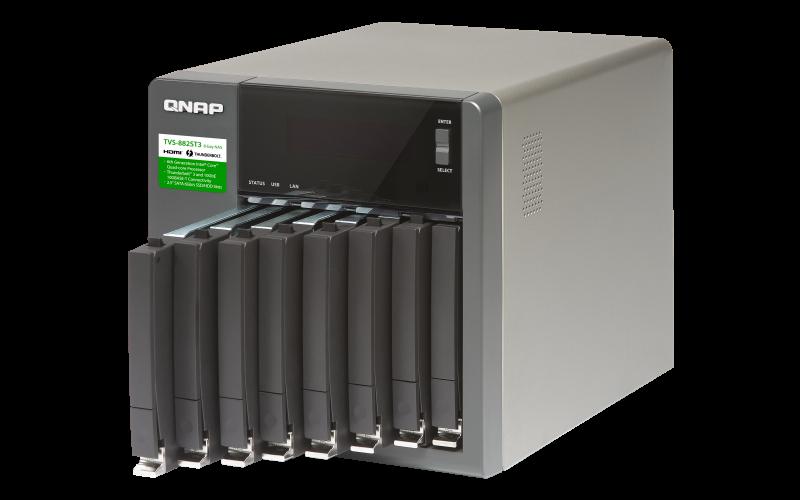 QNAP 威廉通 TVS-882ST3-i7-16G 8Bay NAS 網路儲存伺服器 6