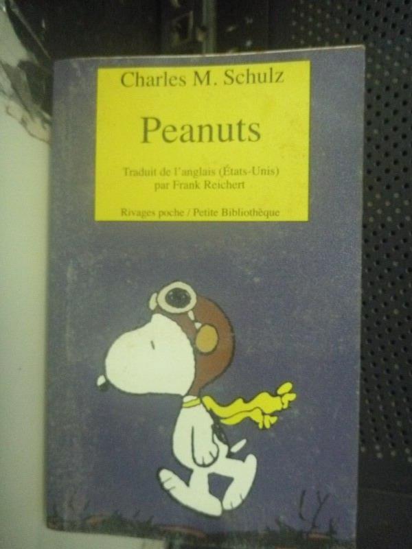 【書寶二手書T6/繪本_LGL】Peanuts_ Charles M. Schulz