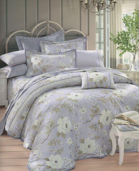 [床工坊]百貨專櫃-[英國授權寢具]-60支美國棉認證/高質感床罩組-雙人加大六尺零碼(孝親推薦組) 1