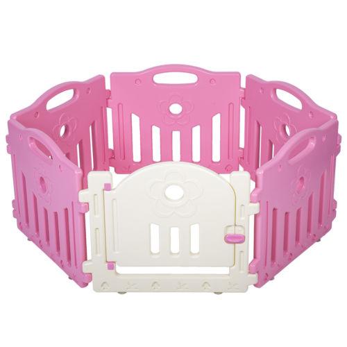 Factory Direct | Rakuten: Baby Playpen 6 Panel Playard Kids PlaySafe ...
