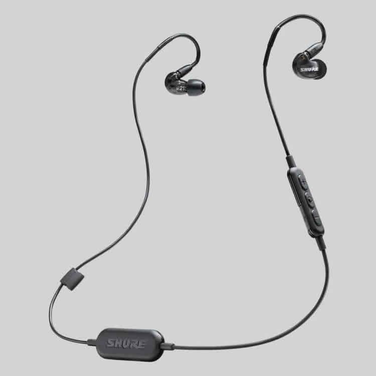 <br/><br/>  志達電子 SE215-BT1 美國 SHURE SE215-K-BT1(黑色) SE215-CL-BT1(透明) 藍牙耳道式耳機 (富銘公司貨)<br/><br/>