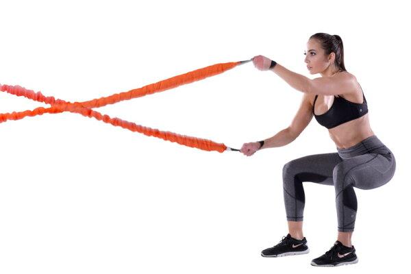 詮邦-健康滾筒:STROOPS【功能性訓練彈力戰繩組47磅】輕巧好攜帶!整個空間都是我的健房室,練起來汗用噴的!