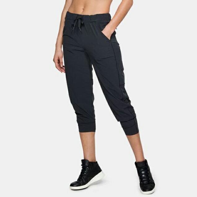 UNDER ARMOUR UA Sportstyle Jogger 女裝 長褲 慢跑 訓練 排汗 透氣 口袋 黑【運動世界】1311381-001【APP限定   單筆滿799元結帳輸入序號『GT-MEN1906』再折70元】