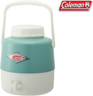 Coleman 飲料桶/冰桶/冷飲桶/4.9L經典飲料筒 CM-27865M000 綠松石 台北山水