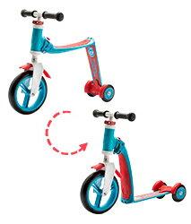 ★衛立兒生活館★奧地利Scoot & Ride Highwaybaby+幼兒滑步滑板車-亮麗藍(1Y+)