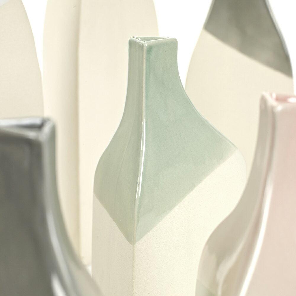 Serax 三角高身花器 花瓶 四色(綠) D10 H32 (M) 1