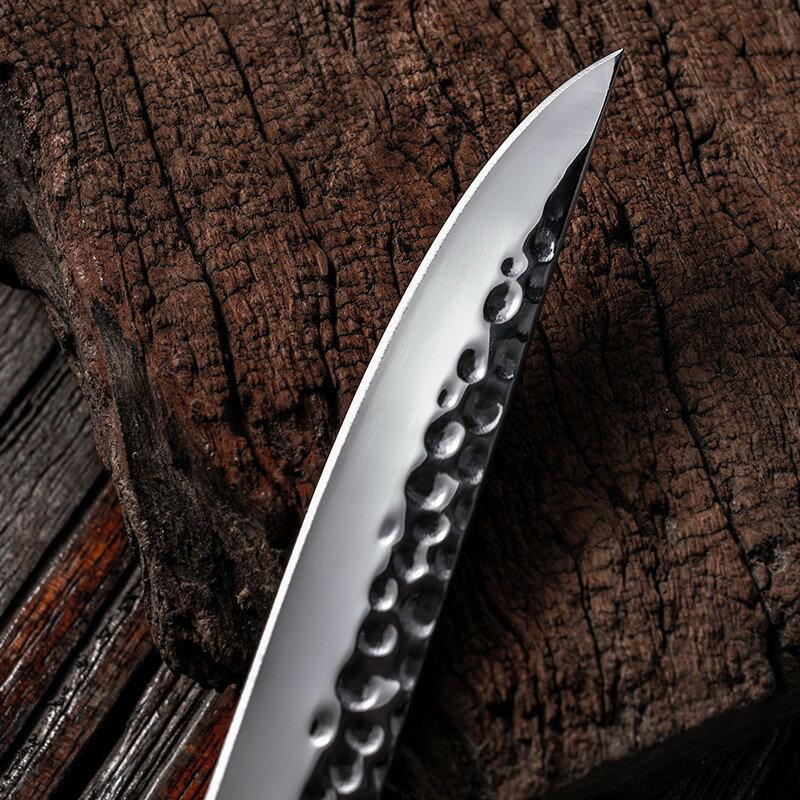 磨刀石 磨刀器不銹鋼實木釣殺切魚刀戶外漁具垂釣用品