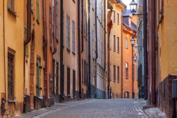 瑞典斯德哥爾摩壁畫訂製壁畫e24169