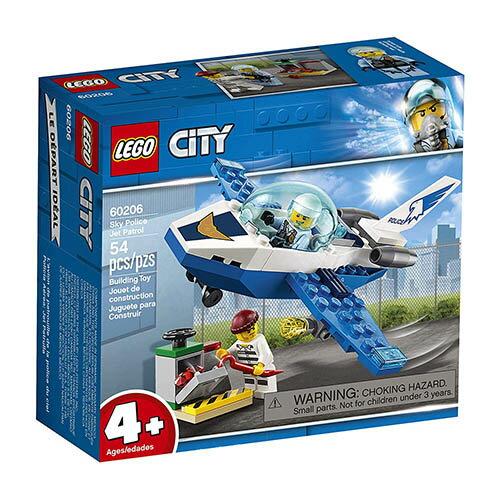 樂高LEGO 60206  City-Police 城市警察系列 - 航警巡邏機 - 限時優惠好康折扣