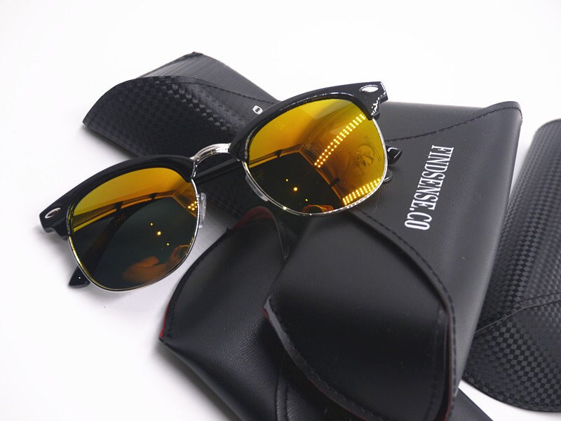 FINDSENSE 經典 復古 金屬 太陽眼鏡 遮陽 防曬 歐美 眼鏡