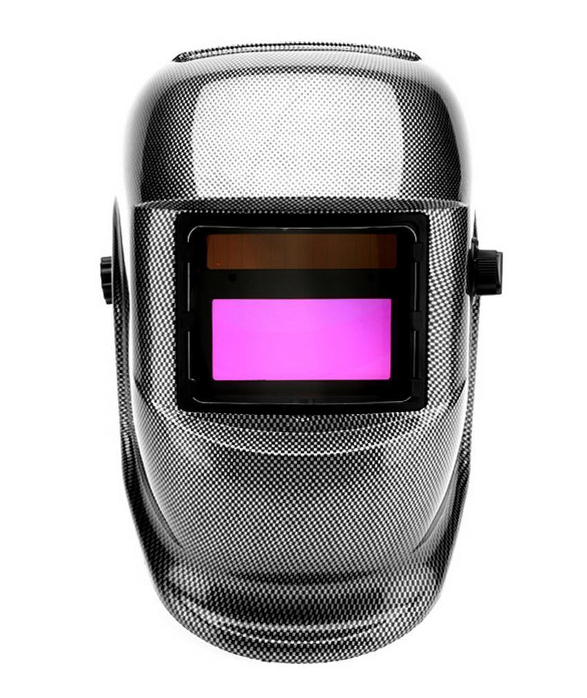 Solar Powered Auto Darkening Welding Helmet Arc Tig Mig Grinding Protective Weld Mask 0