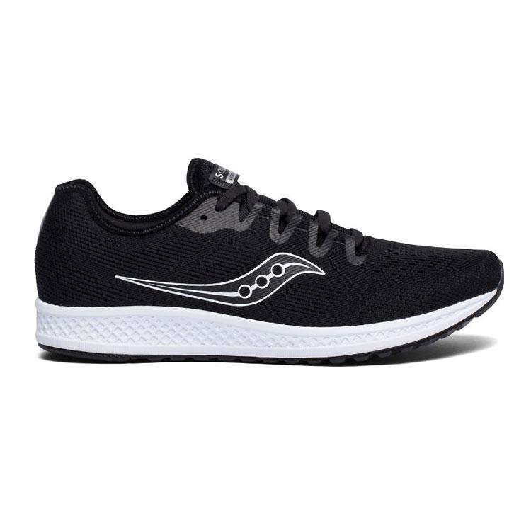 saucony 男 FLARE 運動鞋SY40034-1【黑色】  /  城市綠洲 (跑鞋、運動鞋、EVERUN) 1