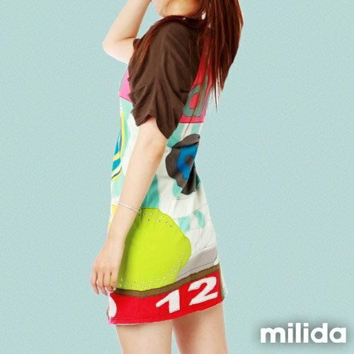 【Milida,全店七折免運】公主袖派對洋裝 2