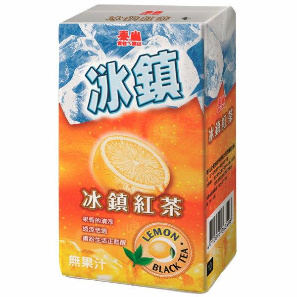 泰山冰鎮紅茶300ml(6入)/組【康鄰超市】