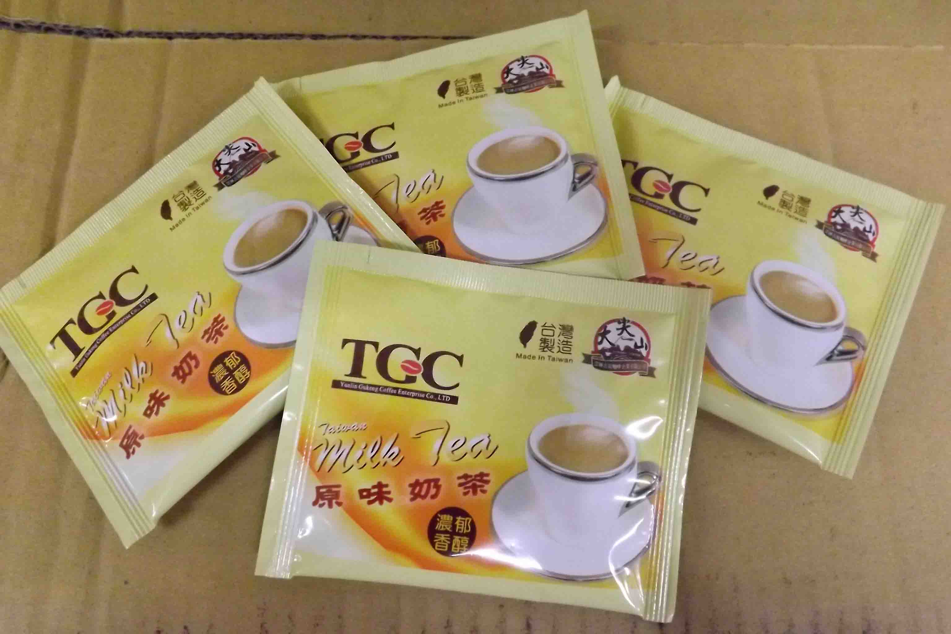 [古坑咖啡~TGC]台灣原味奶茶量販100入裝