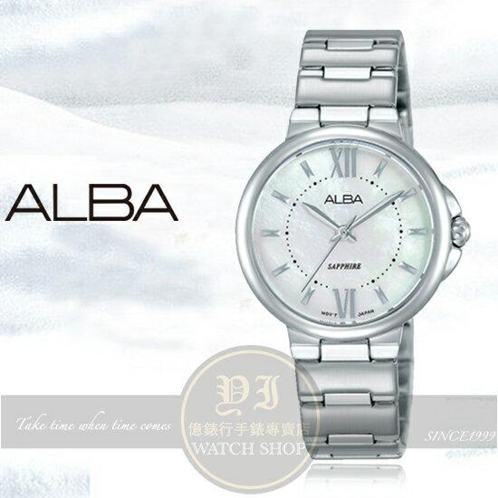 ALBA雅柏FASHION LADY簡約時尚腕錶VJ21-X120S/AH8451X1公司貨