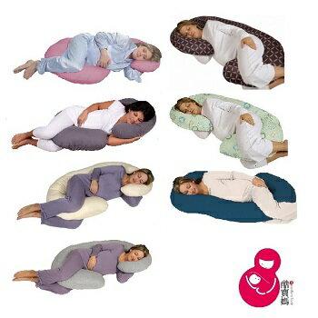 【現貨】美國 Leachco Snoogle Total Body Pillow 孕婦舒壓側睡枕/鉤形枕/孕婦枕/月亮枕/哺乳枕