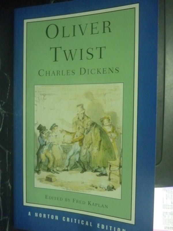 【書寶二手書T7/原文小說_JQO】Oliver Twist_Charles Dickens, Fred Kaplan