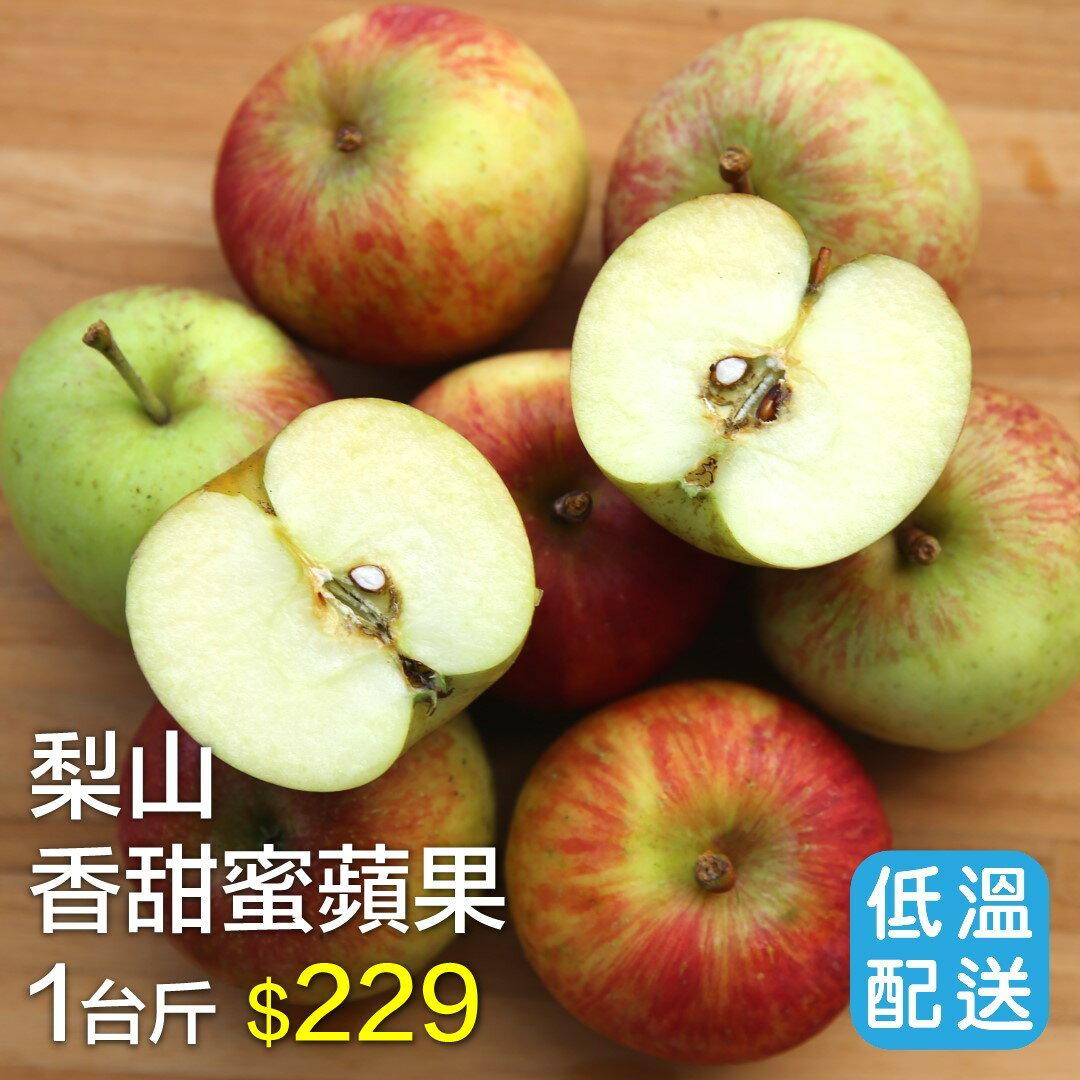 ~好實選果~梨山香甜蜜蘋果 1台斤(約5~7入) ~  好康折扣