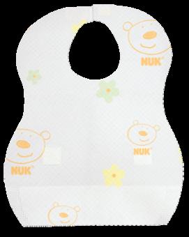 『121婦嬰用品館』NUK 拋棄式圍兜 10入 0