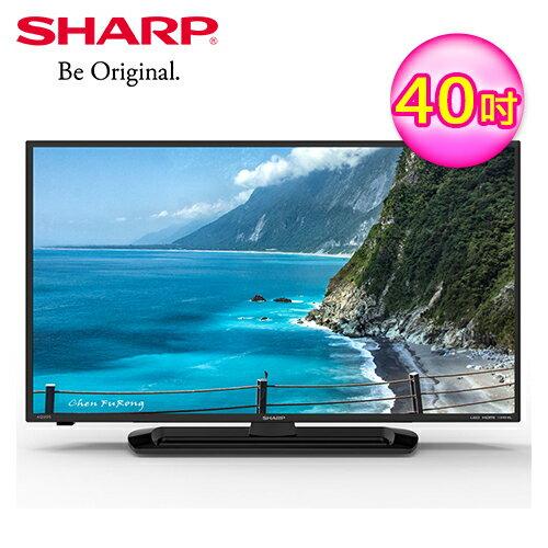 【SHARP夏普】40吋TV液晶LC40SF466T【三井3C】