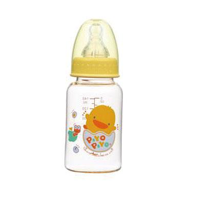 Piyo 黃色小鴨 媽咪乳感PES防脹氣奶瓶 (140ml)【悅兒園婦幼生活館】 0