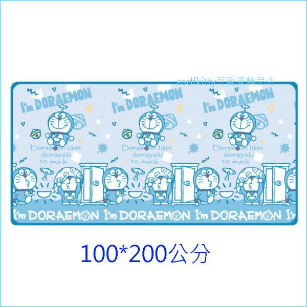 asdfkitty可愛家☆哆啦A夢藍色涼感床墊-100*200公分-日本正版商品
