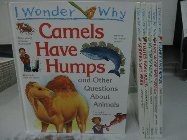 【書寶二手書T1/少年童書_NFT】Planes have Wings_Camels have Humps等_6本合售