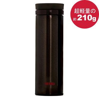 THERMOS 膳魔師 極輕量不鏽鋼真空保溫杯500ml-咖啡色【JNO-501】(MF0359K)