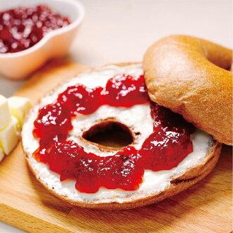 貝果 - 可可奶油草莓 - 6入【Golden Brown布朗主廚 貝果專賣】