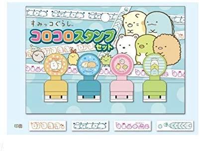 日本角落生物滾動式印章角落小夥伴連續印章玩具章手帳印章