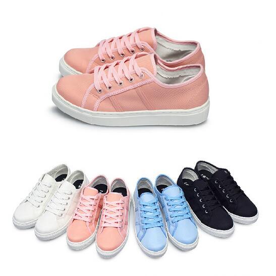【My style】富發牌1CP16女鞋,青澀帆布休閒鞋鞋(水藍.白.粉.黑)23-25號-任兩雙免運