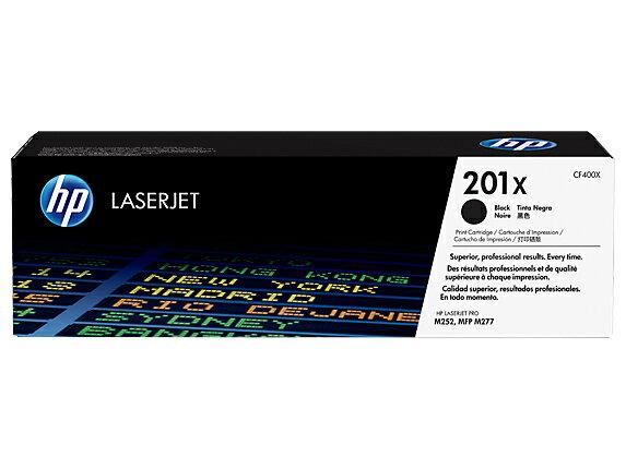 【HP 碳粉匣】 HP CF400X (201x) 原廠黑色高容量碳粉匣